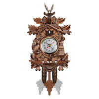 Coucou-Horloge Murale-Oiseau-Horloge-Horloge coucou-Cuckoo-pendule-Sonnette