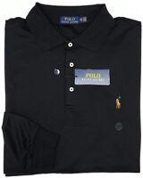 NEW $125 Polo Ralph Lauren Long Sleeve Black Shirt Mens Big 100% Cotton NWT
