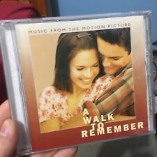 A Walk To Remember - Music From The Motion Picture CD soundtrack (Mandy Moore)