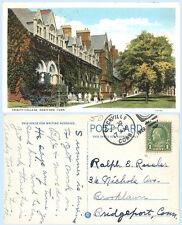 Trinity College Hartford Connecticut 1929 Teich Postcard