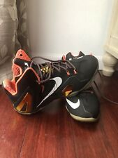 3e1ceec82c0 Nike Lebron James XI 11 Elite Black Gold Crimson Size US12