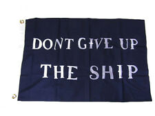 2x3 Embroidered Commodore Perry Ship #2 Sewn 100% Cotton Flag 2'x3' 2 Clips