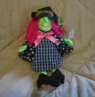 "Ty Beani Babies ""Scary"" a Witch Beanie Born October 25, 2020 Discontinued Retire"