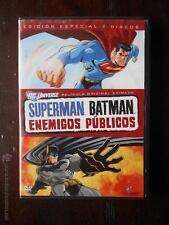 DVD SUPERMAN BATMAN - ENEMIGOS PUBLICOS (1 DISCO, NO 2 DISCOS)