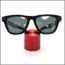 Small Premium Solid Aluminum Cylinder Red