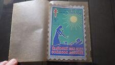 Grande vignette Timbre TUBERCULOSE 1961-1962 Traitement bien ... 5 frs FRANCE