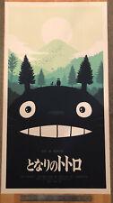 "Olly Moss Mondo My Neighbor Totoro Variant Print 20""x36"" MINT CONDITION"