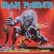 A Real Live Dead One [Enhanced Cd] by Iron Maiden (2 cd, metal, preowned)