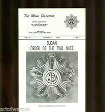 MEDAL COLLECTOR  Vol  18  # 1  1967   (  OMSA Journal )