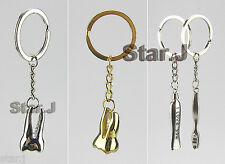 4pcs Tooth Toothbrush Toothpaste Keychain Rings Dentist Dental Promo Gift