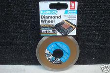 PLASPLUGS RDW110 110MM DIAMOND WET TILE CUTTING DISC PRO-TILER COMPACT PLUS