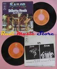 LP 45 7'' SAILOR Stiletto heels Out of money 1976 germany EPIC4620  no cd mc dvd