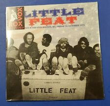 Little Feat & Lowell George - Orpheum Boston Oct 75 - SEALED 2 LPs - RoxVox 180g