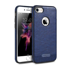 For iPhone 5 6 6s 7 7 Plus Accessory Hybrid PU Leather Shockproof TPU Case Cover
