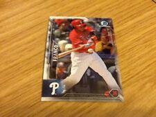 #5 Maikel Franco Philadelphia Phillies baseball / Topps Chrome 2016 trade card