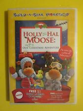 Build A Bear Workshop Holly And Hal Moose Uplifting Christmas Adventure NEW DVD