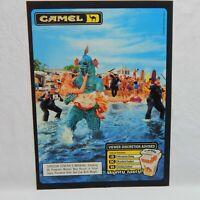 1998 CAMEL CIGARETTE R.J. REYNOLDS TOBACCO CO. ADVERTISEMENT