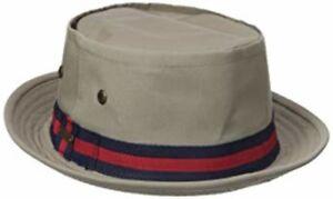 "Stetson Men's Fairway 2"" Bucket Hat 75% Cotton 25% Polyester Water Resistant XL"