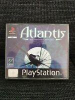 *ATLANTIS * PLAYSTATION 1 ** ERSTAUFLAGE - 3 Disc SONY PS1 ** KOMPLETT - SELTEN