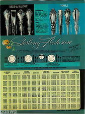 1969 ADVERTISEMENT Flatware Reed Barton Towle Rogers Silverplate International