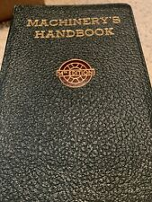 MACHINIST 14th EDITION MACHINERY'S HANDBOOK