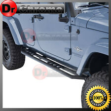 07-16 Jeep JK Wrangler All 4 Door Step Armor Rock Sliders Rocker Guard Nerf Bar