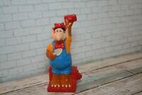 Alf TV Alien Toy Figure 3 Little Pigs Brick Layer Wendy's 1990 Kids Meal Vintage