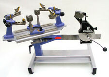 Table-Top 6-Point Fixed Clamp Crank Stringing Machine Flex 840