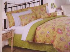 Hillcrest  Indian Floral Reversible King 4pc Comforter Set  New