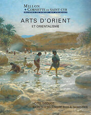 CATALOGUE VENTE MILLON ART ISLAMIC TABLEAU ORIENTALISTE ORIENTALISME ceramique