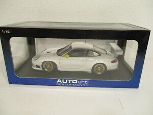 ( GOR U ) 1:18 AUTOart Porsche 911 GT3R WHITE  NEU OVP
