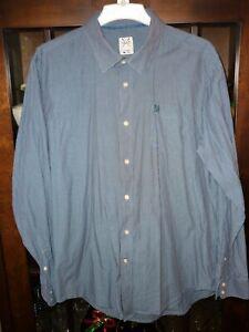 CREW CLOTHING CLASSIC FIT 100% COTTON STRIPE SHIRT SIZE XL