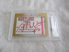 Melo Trimble 2017 Leaf Masterpiece Cut Signature auto signed card 1/1 Maryland