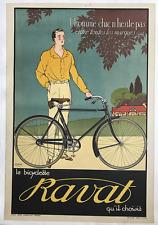 Bicyclette Ravat Poster