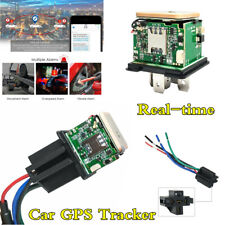 GPS Car Tracker Real Time Tracking Device GSM/GPRS Locator Remotely Anti-theft