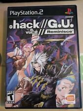 .hack G.U. Vol. 2: Reminisce Ps2 Ntsc-U(with Case and manual)