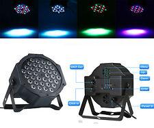 36W LED Flat Par Licht RGB DMX Control Party Disco Xmas Bar DJ Stage Lighting