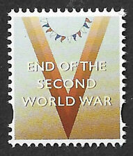 GB 2020 End of The Second World War u/m Cinderella 'stamp' from Prestige Book