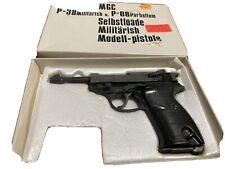 Rare  MGC  P38  P-08 Parbellum  GUN  PISTOL IN BOX Prop Replica Ww2 German