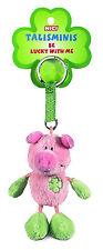 Nici Talismini Schwein 10cm Plüsch grü Schlüsselanhänger Anhänger Geschenk 33687