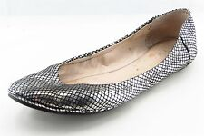 Vince Camuto Ballet Flats Silver Leather Women Shoes Size 10 Medium
