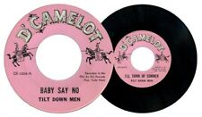 Philippines TILT DOWN MEN Baby Say No OPM 45 rpm Record