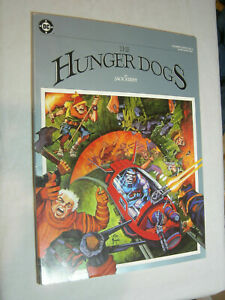 DC Graphic Novel #4 VG+ Jack Kirby The Hunger Dogs