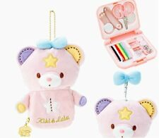 Little twin stars Portable Sewing Kits with Plush scissors needle measure SANRIO