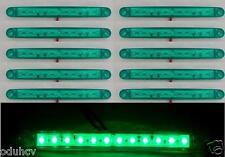 30: 24v Verde 12 LED Lateral Luces de marcaje PARA EL CARRO REMOLQUE scania daf