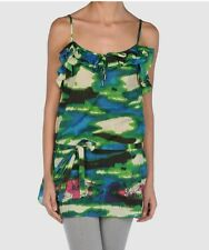"""BNWT John Galliano """"FLOWERS COLLECTION"""" Sleeveless Top Size 44 (L)"""