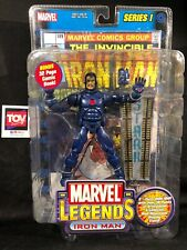 "Toybiz Marvel Legends STEALTH Iron Man Series 1 MOC 6"" action figure"