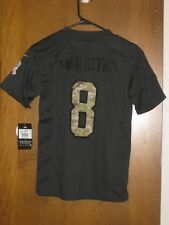 Nike Marcus Mariota Tennessee Titans Salute to Service Jersey Youth Medium 2551766d8