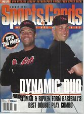 Cal Ripken Jr & Roberto Alomar Cover Sports Cards Baseball Price Guide Aug, 1996