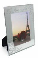 25th Silver Wedding Anniversary Photo Frame New Boxed WG83325